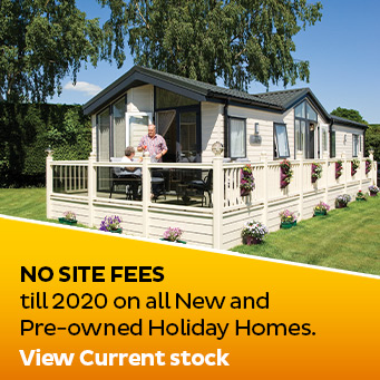 No site fees until 2020 on all New and Pre-owned Holiday Homes. View current stock.