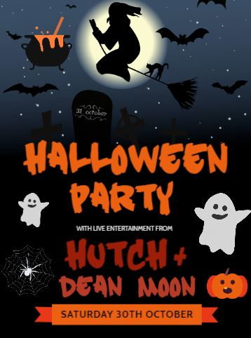 Image of HALLOWEEN PARTY - With HUTCH & Dean Moon